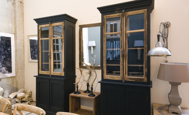 Display cabinets 12